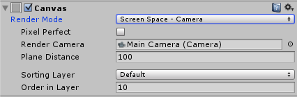 Screen Space - Camera