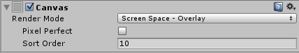 Screen Space - Overlay